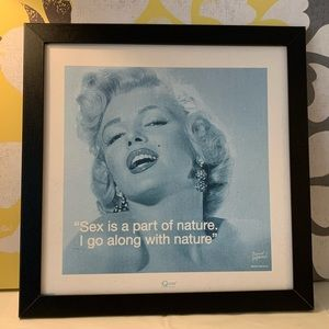 Marilyn Monroe Wall hanging